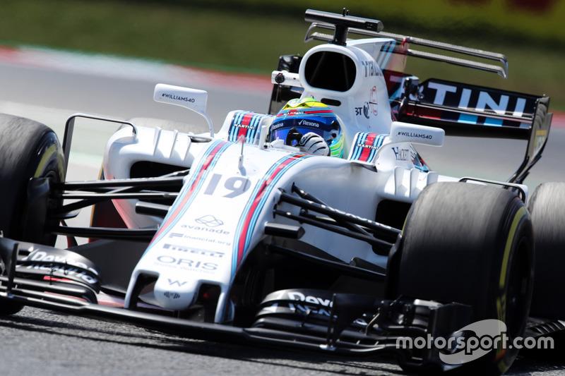 Т-крыло Williams FW40