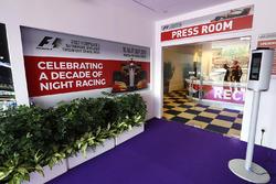 Press room / media centre