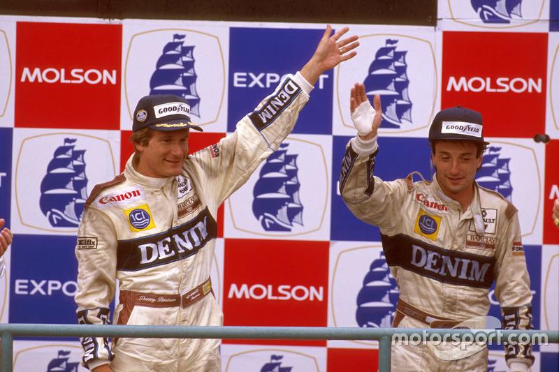 8. Тьєррі Бутсен, Гран Прі Канади-1989 (95 гонок)