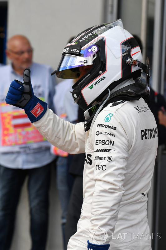 Володар поул-позиції Валттері Боттас, Mercedes AMG F1