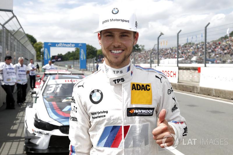Polesitter Tom Blomqvist, BMW Team RBM, BMW M4 DTM