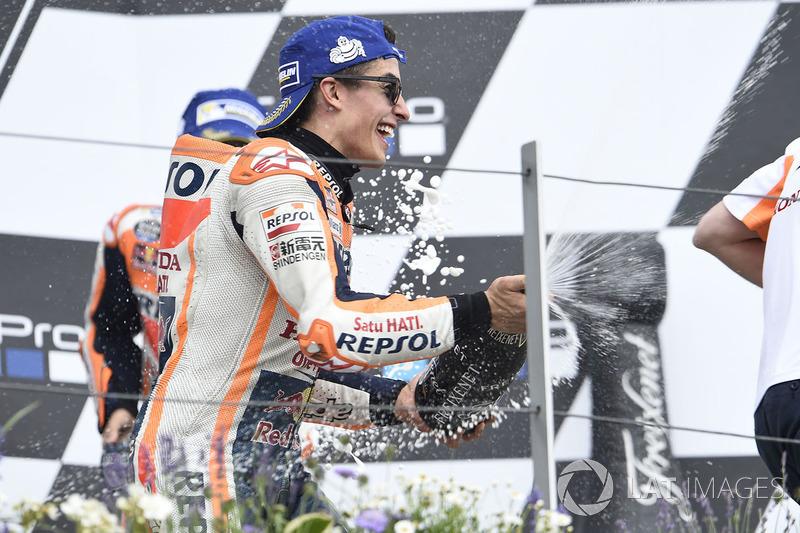 5. Victoria y liderato de Márquez en Sachsenring justo antes de las vacaciones
