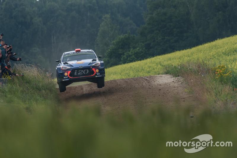 Dani Sordo, Marc Marti, Hyundai Motorsport, Hyundai i20 Coupe WRC