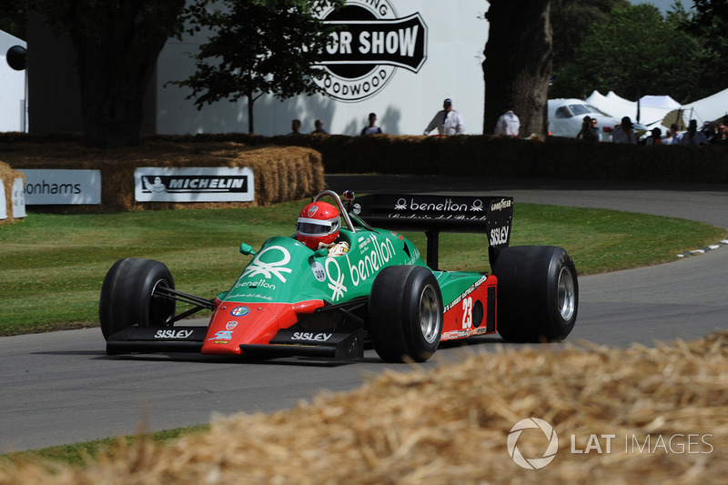marco cajani alfa romeo 183t at goodwood festival of speed on july