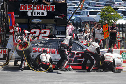 Ryan Blaney, Team Penske Ford pit stop