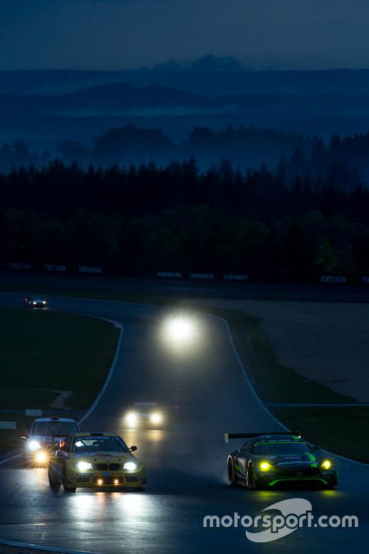 #29 AMG-Team HTP Motorsport, Mercedes-AMG GT3: Christian Vietoris, Marco Seefried, Christian Hohenadel, Renger Van der Zande