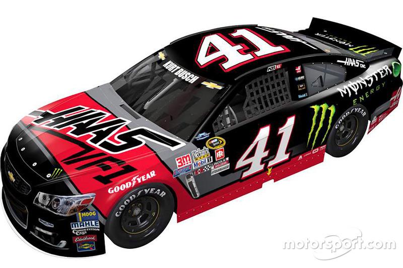 Kurt Busch, Stewart-Haas Racing Chevrolet, livrea speciale