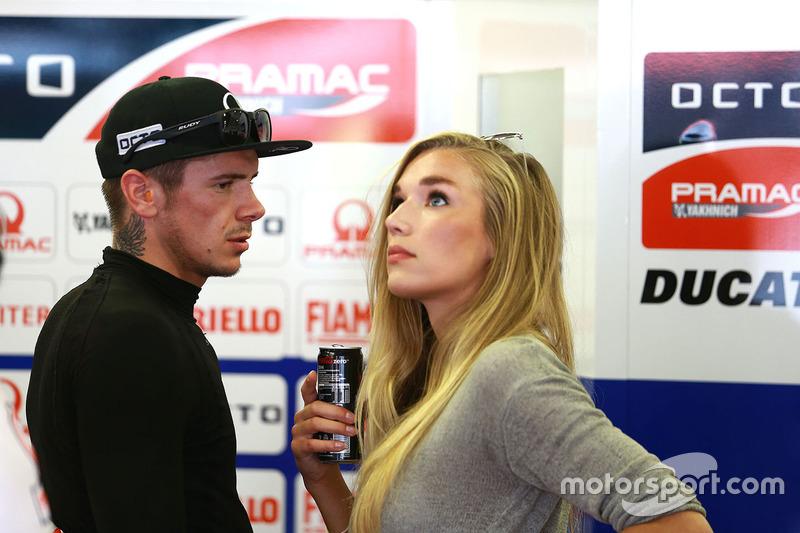Scott Redding, Pramac Racing e la sua ragazza