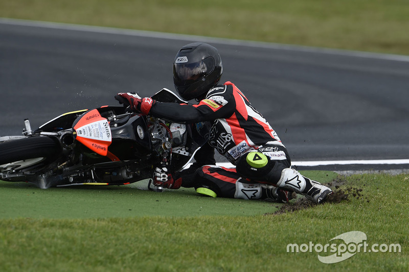 Matt Barton, Suus Honda crash