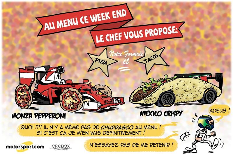 L'humeur de Cirebox - Monza et Mexico au menu !