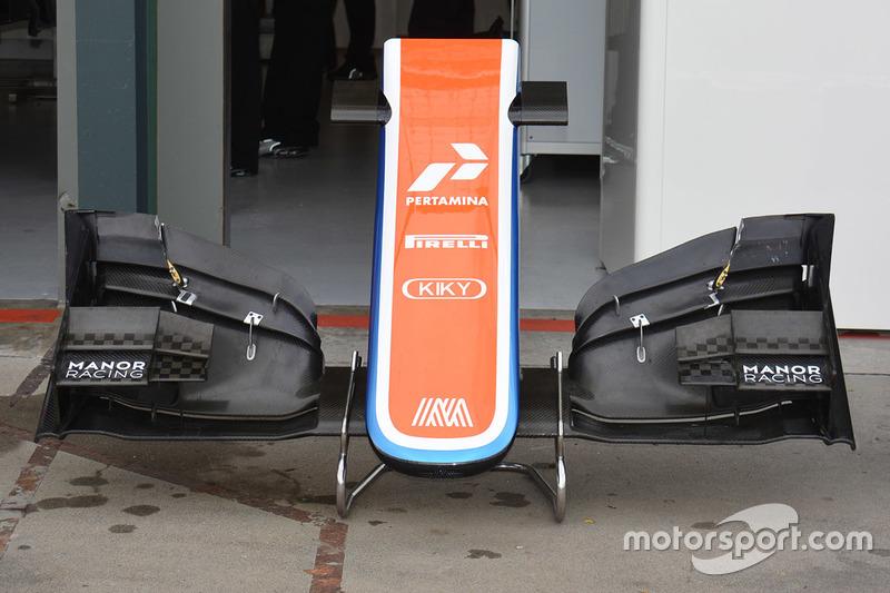 Alter Frontflügel, Manor Racing MRT05