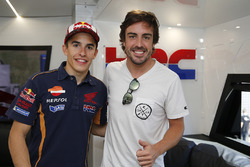 Marc Marquez, Repsol Honda Team, Fernando Alonso