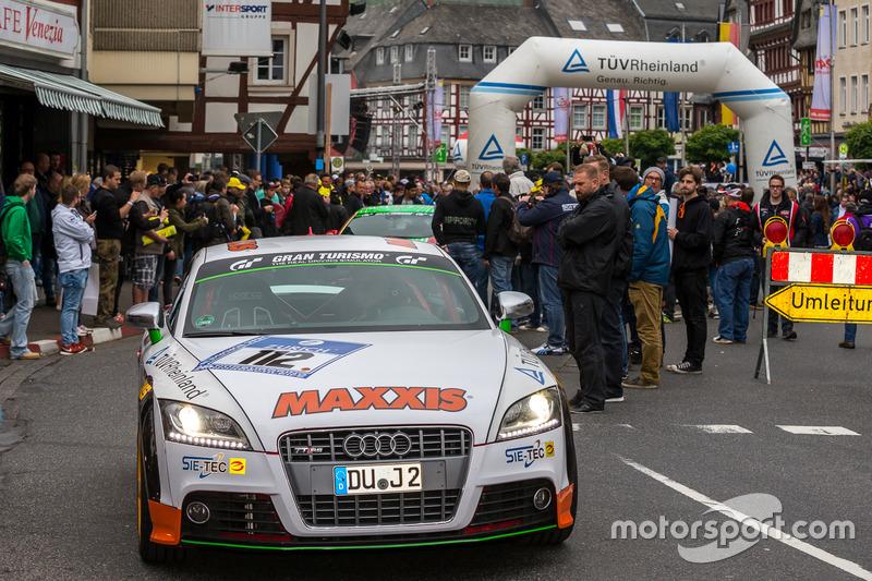 #112 Care For Climate, Porsche Cayman GT4: Smudo, Tom von Löwis of Menar, Daniel Schellhaas, Axel Duffner