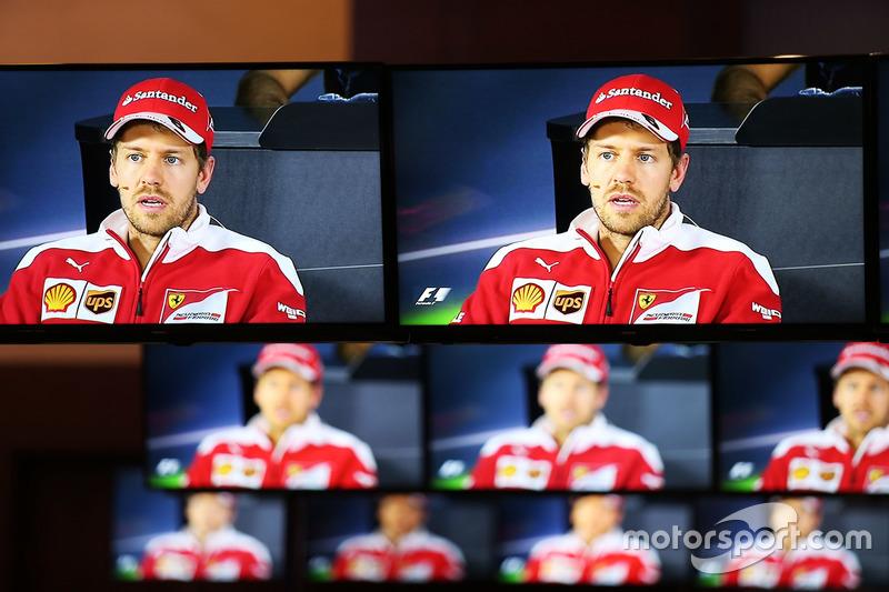 Себастьян Феттель, Ferrari, прес-конференція