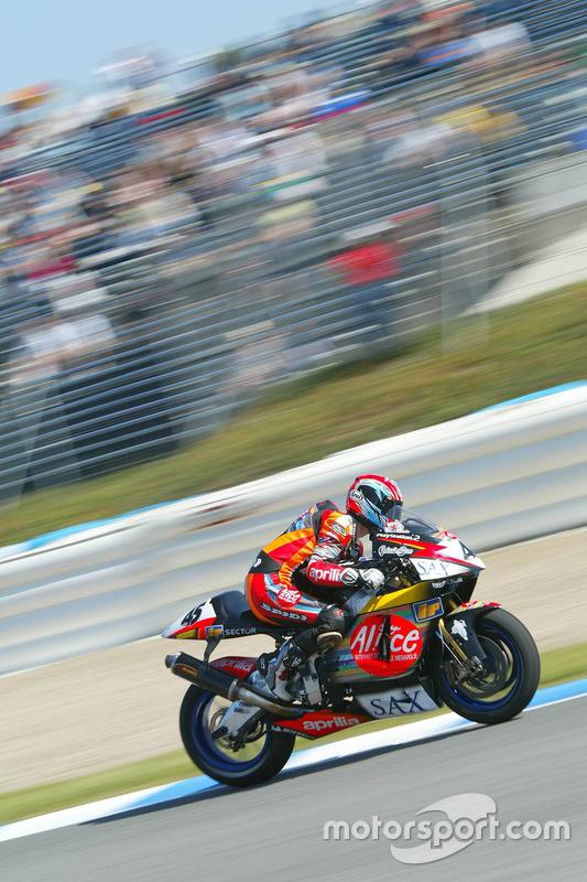 Colin Edwards, Aprilia Racing