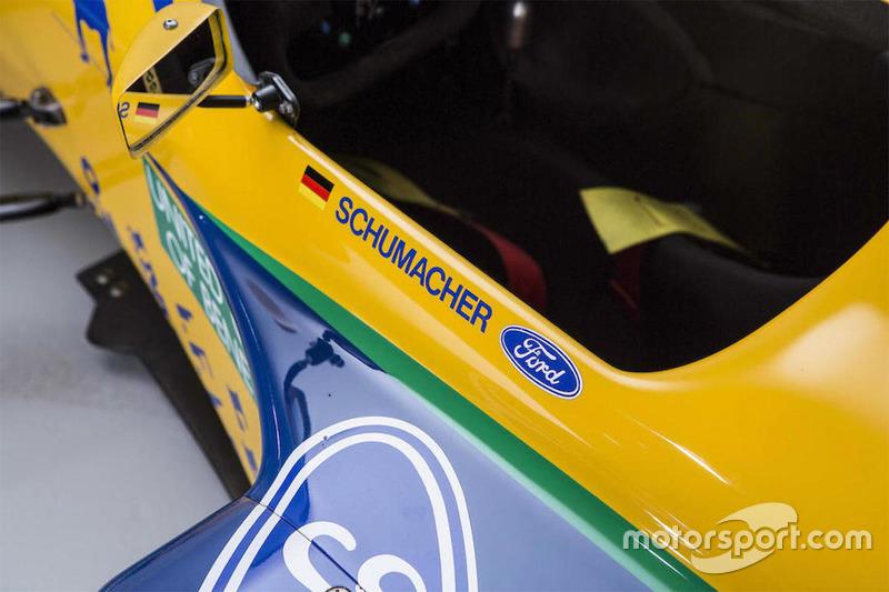 Michael Schumacher Benetton-Ford B191/191B