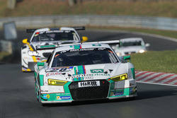 #28 Land Motorsport, Audi R8 LMS: Marc Basseng, Connor de Phillippi, Timo Scheider, Mike Rockenfelle