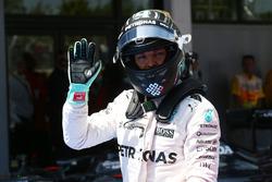 Tweede plaats voor Nico Rosberg, Mercedes AMG Petronas F1 W07