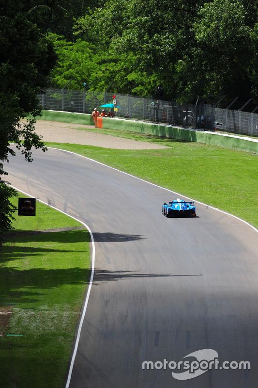 #18 M.Racing - YMR, Ligier JSP3 - Nissan: Thomas Laurent, Yann Ehrlacher, Alexandre Cougnaud