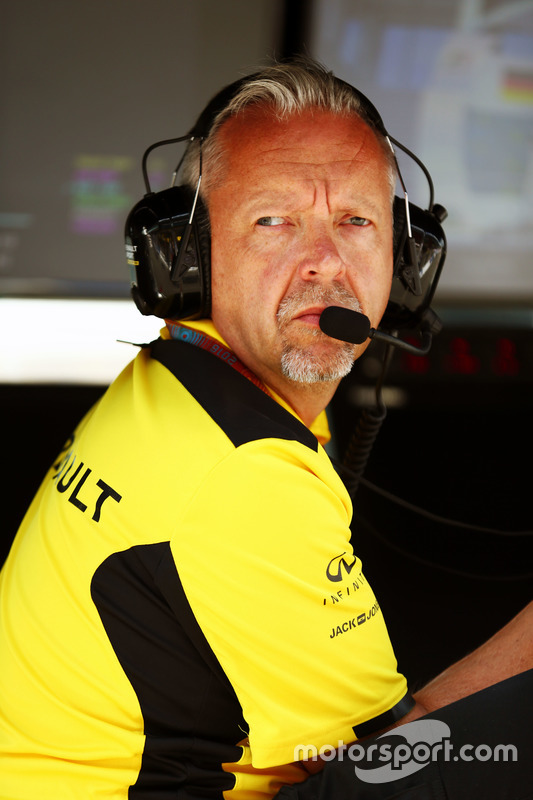 Paul Seaby, Renault Sport F1 Team, Team Manager