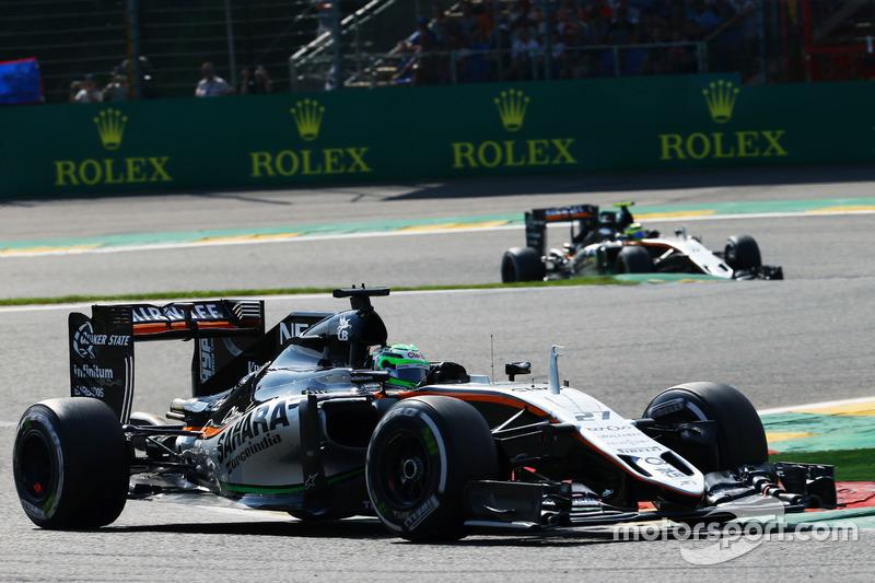 Дві Force India у топ-5