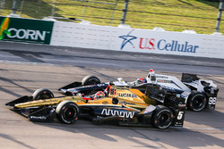 James Hinchcliffe, Schmidt Peterson Motorsports, Honda; Alexander Rossi, Herta - Andretti Autosport,