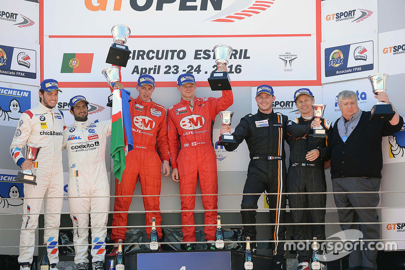 Podium: 1. Shaun Balfe, Philip Keen; 2. Gustavo Yacamán, Fernando Monje; 3. Thomas Biagi, Fabrizio Crestani