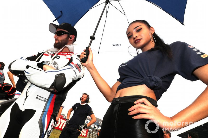Tom Sykes, BMW Motorrad WorldSBK Team, chica