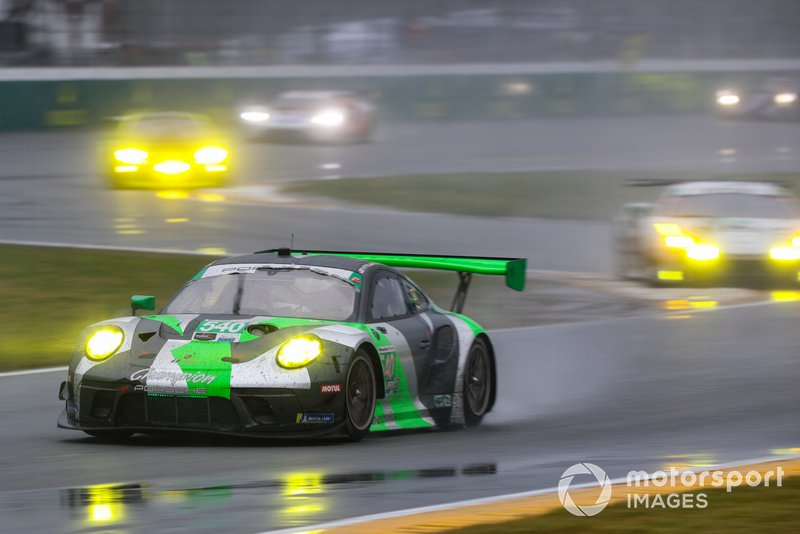 #540 Black Swan Racing Porsche 911 GT3 R, GTD: Timothy Pappas, Matteo Cairoli, Dirk Werner, Marco Seefried