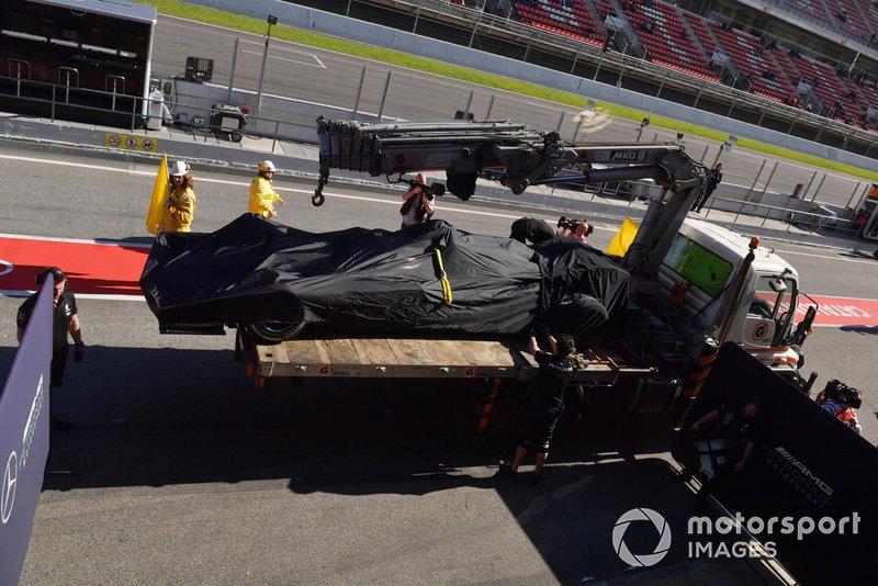 Валттері Боттас Mercedes-AMG F1 W10