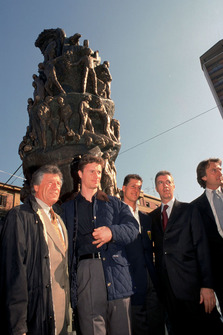 Mario Andretti, Eddie Irvine, Michael Schumacher, Piero Ferrari, Luca Di Montezemolo