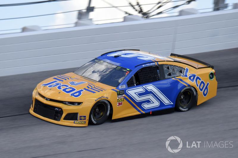 B.J. McLeod, Rick Ware Racing, Chevrolet Camaro Jacob Companies