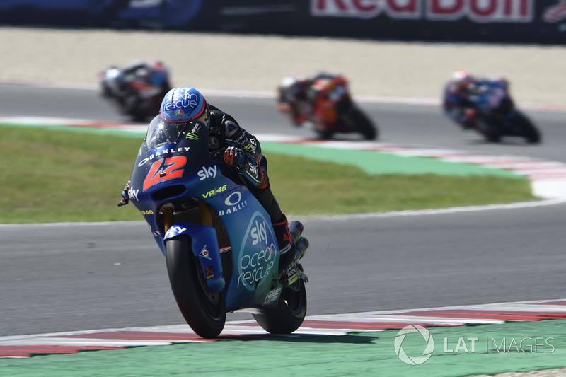 Moto2 San Marino: Kualifikasi 1, finis 1