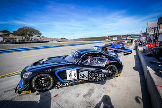 #63 DXDT Racing Mercedes-AMG GT3: David Askew, Ryan Dalziel, Mike Hedlund