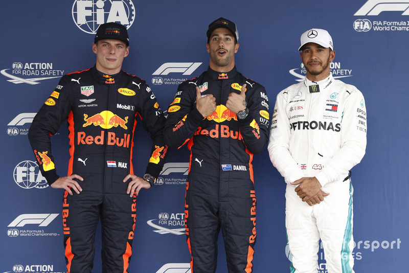 GP de México: Ricciardo vence a Verstappen por 26 milésimas