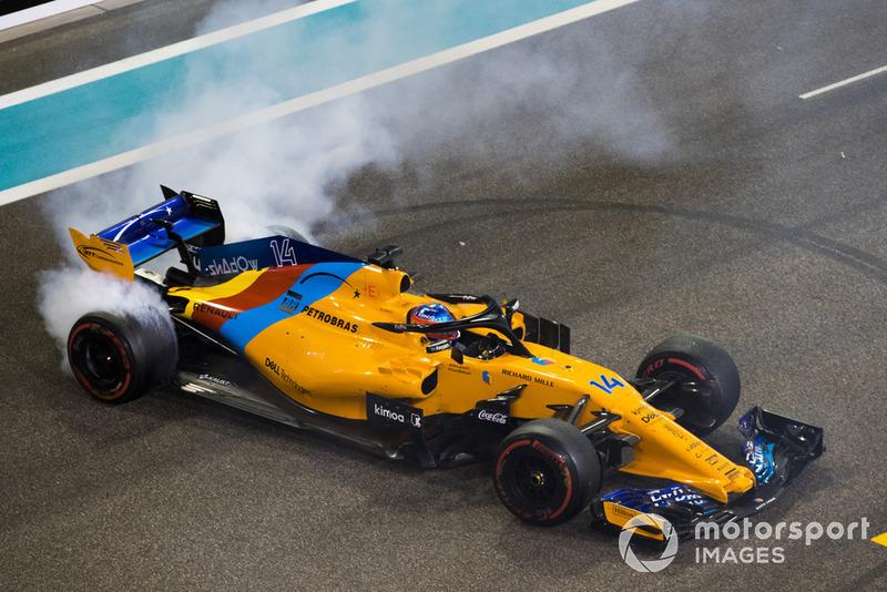 4. Fernando Alonso: 103 punten - twee plaatsen gestegen