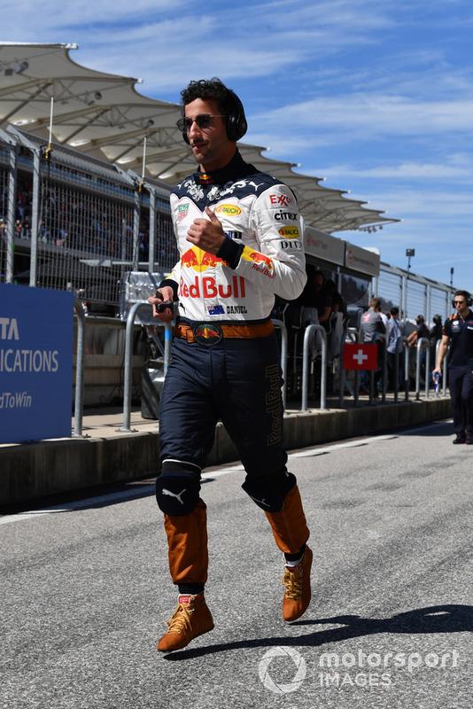 Daniel Ricciardo, Red Bull Racing corre