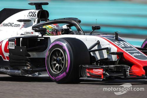 Formel-1-Test in Abu Dhabi