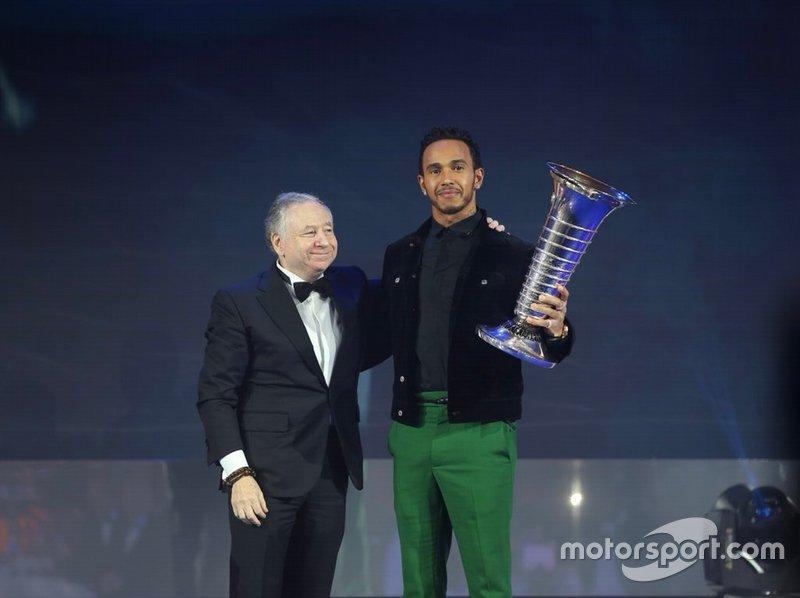 Campeonato del mundo de Fórmula 1 de la FIA: Lewis Hamilton