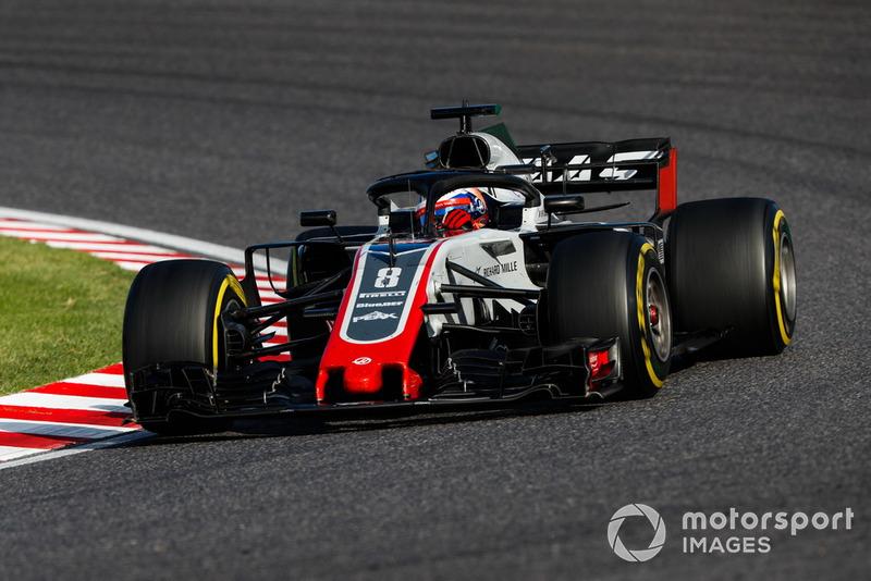 Romain Grosjean - Haas F1 Team: 9 puan