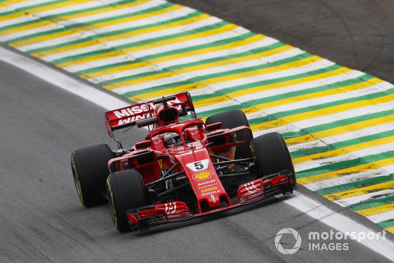 El ahora famoso mensaje de Vettel sobre el tornillo suelto.