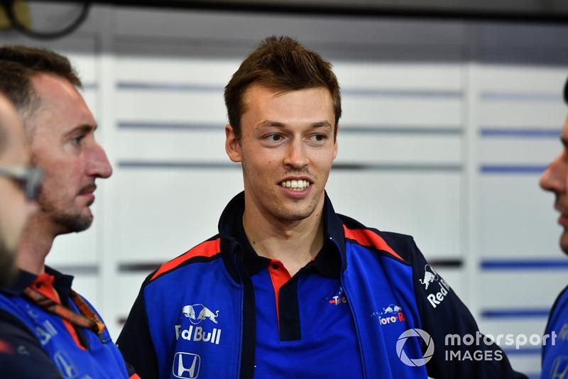 Daniil Kvyat, Toro Rosso (Vuelve a la F1 desde mediados de 2017)