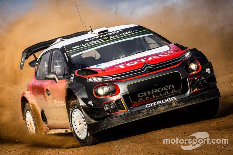 Себастьян Ож'є, C3 WRC, Citroën Racing