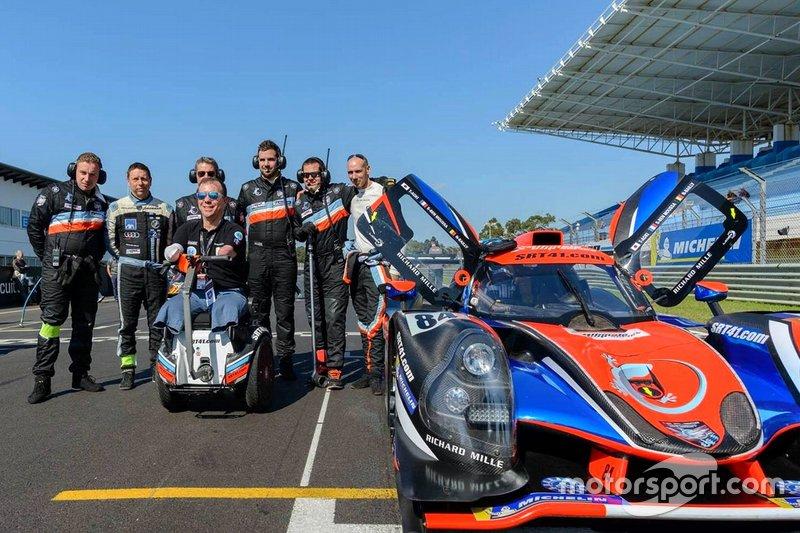 Anuncio de Sausset para Road To le Mans