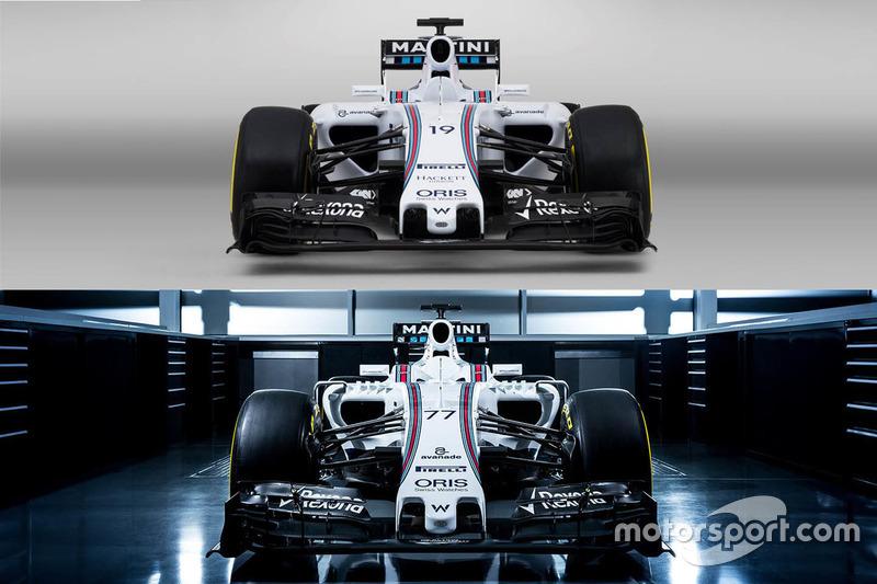 Сравнение машин Williams FW37 и FW38