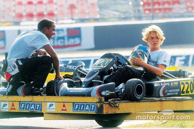 Lewis Hamilton y Nico Rosberg
