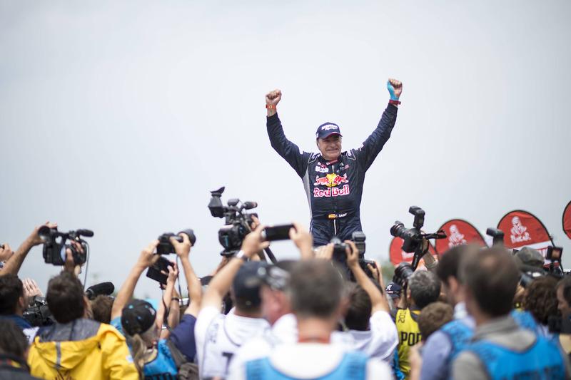 Ganador Carlos Sainz, Peugeot Sport