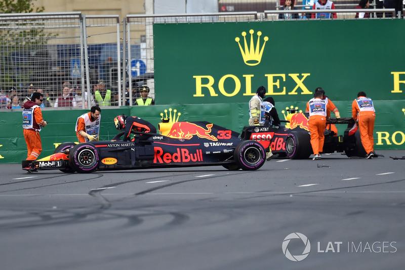 Max Verstappen dan Daniel Ricciardo, Red Bull Racing RB14