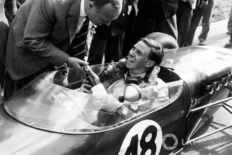 1960 : Formule 2 à Brands Hatch : Jim Clark, Lotus 18