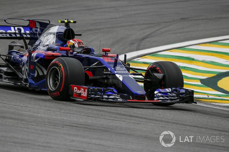 22 місце — П'єр Гаслі, Toro Rosso — 0